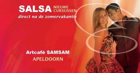 SALSA - nieuwe cursussen in Artcafé SamSam, Apeldoorn